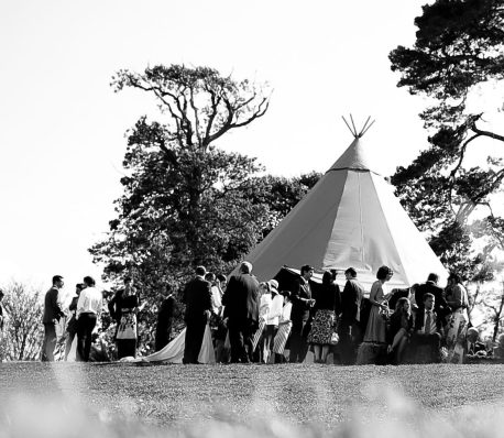 teepee marquee wedding event