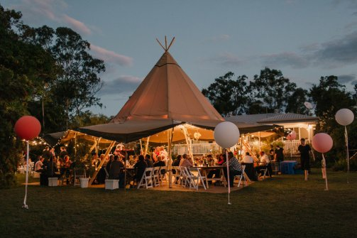 Tipi wedding queensland